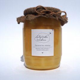 Pavasarinis medus, 1000 g. (stiklainis)