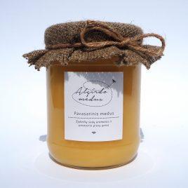 Pavasarinis medus, 700 g. (stiklainis)