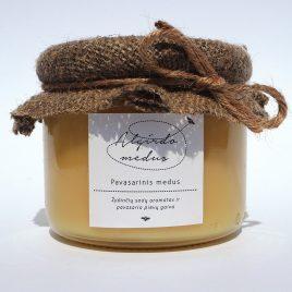 Pavasarinis medus, 400 g. (stiklainis)