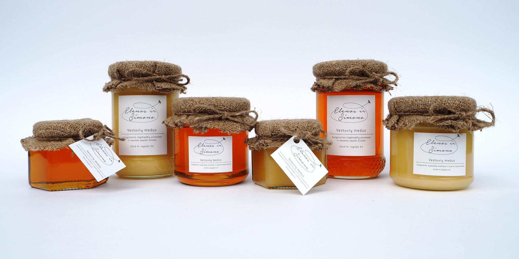 Medus – saldi dovana vestuvių svečiams