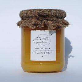 Vasarinis medus, 700 g. (stiklainis)