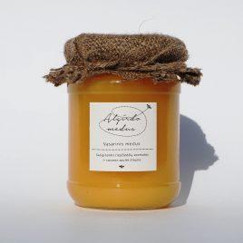 Vasarinis medus, 350 g.