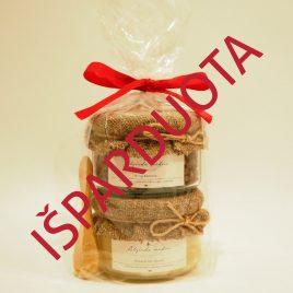 Medaus ir bičių duonelės rinkinys