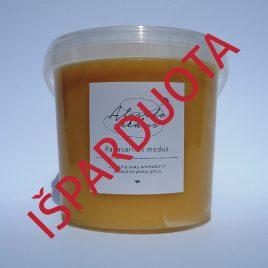 Pavasarinis medus, 1400 g. (kibirėlis)