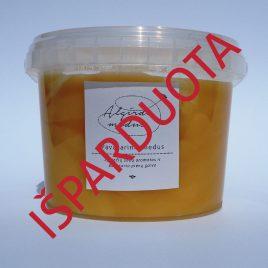Pavasarinis medus, 1000 g. (kibirėlis)