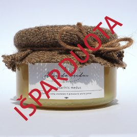 Pavasarinis medus, 300 g. (stiklainis)