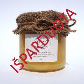 Pavasarinis medus, 250 g. (stiklainis)