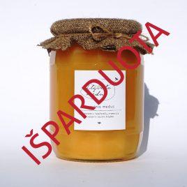 Vasarinis medus, 1000 g. (stiklainis)
