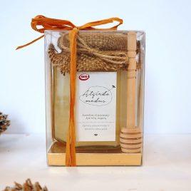 Medaus dovana dėžutėje, 400 g.